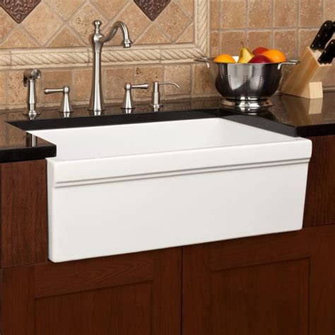 porcelain kitchen sink small derektime design it s a real vinings buckhead real people real community