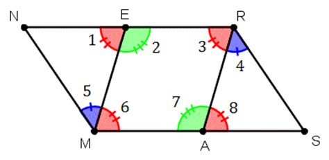 Interior Angles Of A Parallelogram by Proving Quadrilaterals Are Parallelograms Wyzant Resources