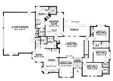 tyler by all american homes two story floorplan floor plans aflfpw14563 1 story new american home with 4
