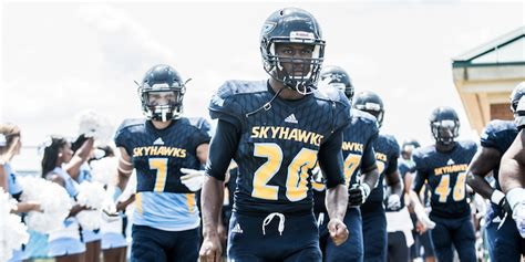 point skyhawks football players point university