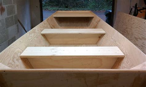 wooden flat bottom jon boat plans plywood jon boat autos post