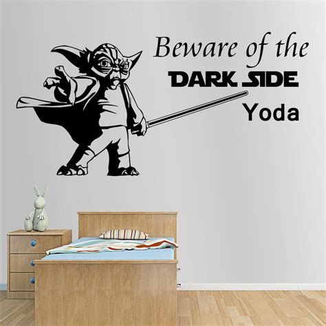 printable wall art for your home yoda quote by inspiredsimply aliexpress com buy art design interior quote star wars