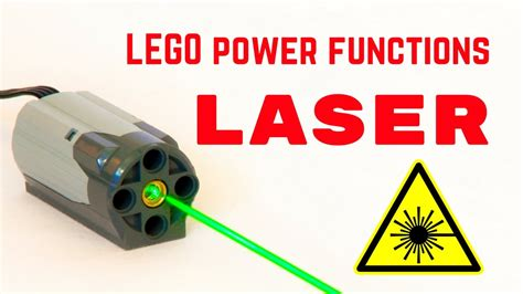 tutorial lego power functions lego power functions laser youtube