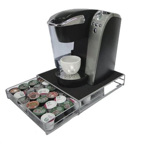 Keurig Cup Holder Drawer by Save 15 12 Decobros K Cup Storage Drawer Holder For