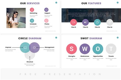 27 Free Company Profile Powerpoint Templates For Presentations Free Presentation Templates