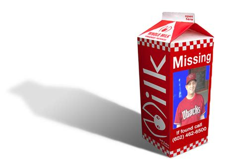 milk carton missing person template clipart best