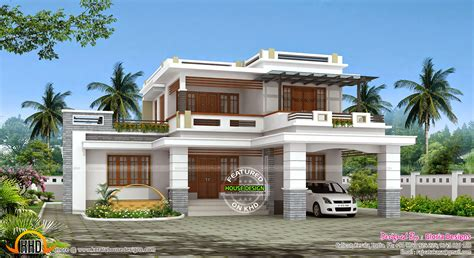 2 floor house may 2015 kerala home design and floor plans