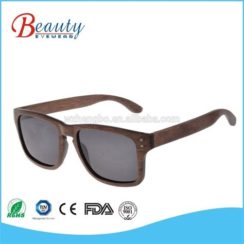 Eco Friendly Wooden Sunglasses From Iwood by 2018 High Quality Eco Friendly Custom Logo Wooden