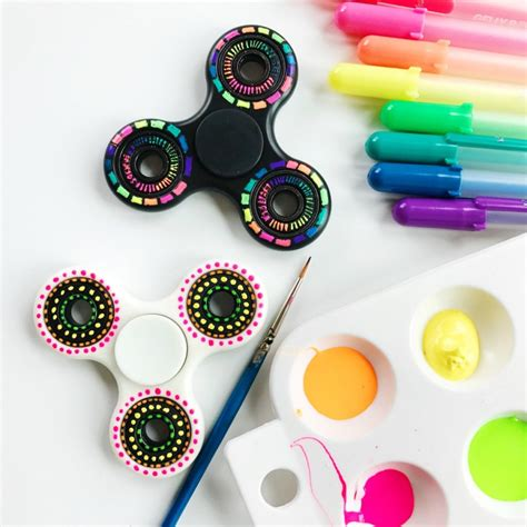 Really Cool Bedroom Ideas diy fidget spinner colorful designs color made happy