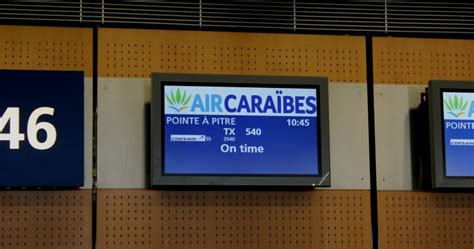 Comptoir Air Orly by Orly Pointe 224 Pitre Le Premier Vol Commercial 224