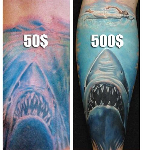 black ink tattoo prices 19 how much should a cost how much white ink