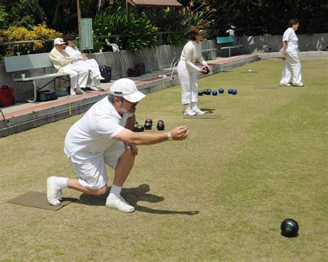 Wiigobot To Bowling Each Time by Rolling In At Holmby Park Lawn Bowling Club