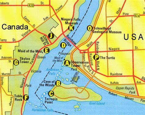usa map niagara falls map for niagara falls free printable maps