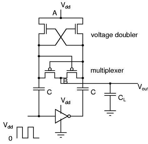 voltage doubler integrated circuit courses ec330 2008 exp2 integrated circuits and systems iit madras