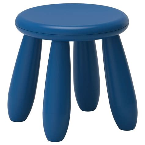 mammut children s stool blue indoor outdoor blue