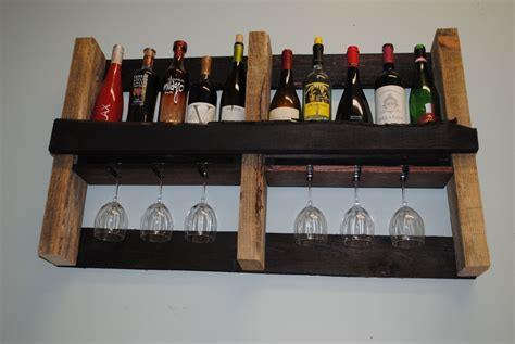 Wine Rack Made From Pallets by Custom Pallet Wine Rack By Shigamasham Customs