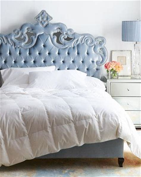 blue tufted bed scarlett blue bed