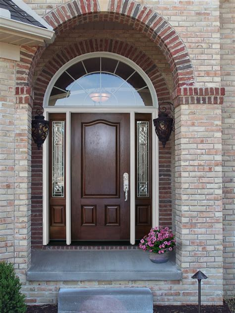 front entry signet fiberglass entry doors photo gallery provia