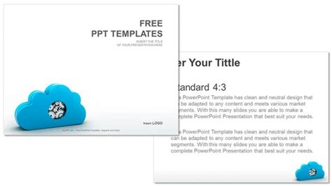 Blog Single Author Fullwidth Cloud Business Template