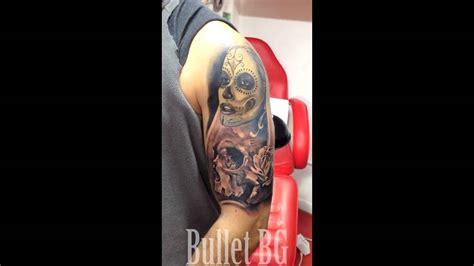 bg tattoo v london bullet bg tattoo work youtube