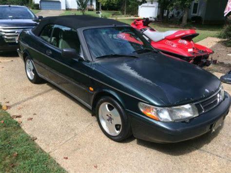 sell used 1998 saab 900 se turbo convertible 5 speed manual in williamsburg virginia united states