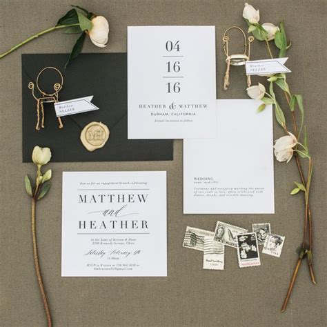 best 25 modern wedding invitations ideas on wedding invitations wedding invitation