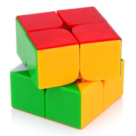 Murah Rubik 2x2 Yongjun Magic Cube 2x2x2 dayan zhanchi 2x2 v2 magic cube 50mm colored 2x2x2 mini