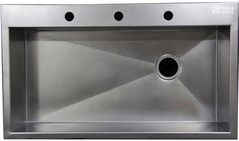 discontinued sinks custom made stainless steel top mount
