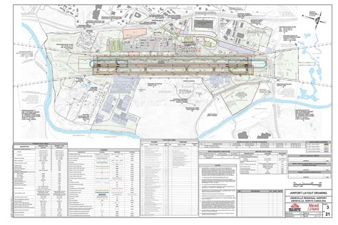 Airport Layout Plan Exle | master plan documents asheville regional airport