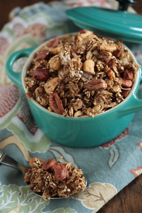 Granola Cashew Caffeine By Cleaneats chai spiced granola country cleaver