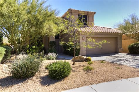 Front Yard Landscaping Simple - 2 story scottsdale home for sale with private backyard with a pool ironwood village homes