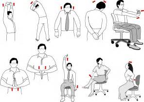 Office Chair Exercises Pictures Get A Workout While At The Office 171 Ezeliving