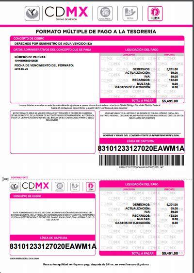 formato de pago de tenencias en cdmx cdmx recibo de pago cdmx impone multas por miles de