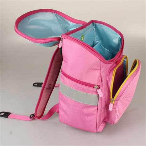 Mikado Tenta Pixel Foldable Shopping Bag Pink upixel class school bag pink wallets brands