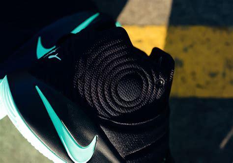 Kyrie 4 Greenglow nike kyrie 2 black green glow sneakerfiles