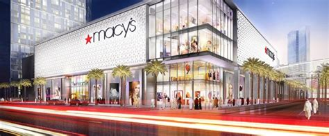 macy s first overseas macy s to anchor mall with 7 000 parking