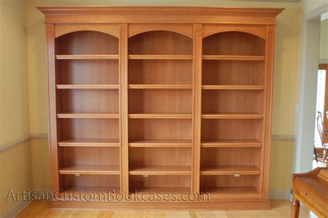 custom built in bookcases artisan custom bookcases