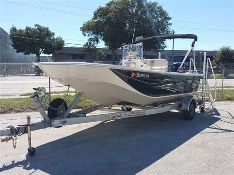 carolina skiff boat for sale 2015 used carolina skiff dlv 218 bay boat for sale
