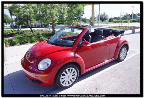 2008 Volkswagen Beetle Convertible by 2008 Volkswagen New Beetle Convertible For Sale 1871046