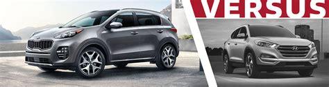 Kia Dealer Tucson 2017 Kia Sportage Vs Hyundai Tucson Suv Comparison