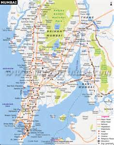 show map of with cities mumbai maharashtra city map information and travel guide