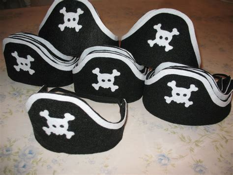 pattern pirate hat felt artsy fartsy felt pirate hats