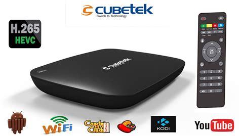 kodi black box streaming cubetek h 265v smart tv box kodi android kitkat quad
