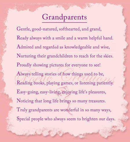 poem for grandparents image detail for poems about grandparents