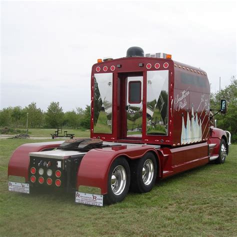 Customs Sleepers by Big Custom Semi Truck Sleepers Pictures To Pin On