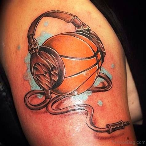 tattoo on ball of shoulder 67 superb basketball tattoos on shoulder
