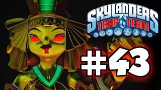 skylanders trap team gameplay walkthrough part 44 kaos
