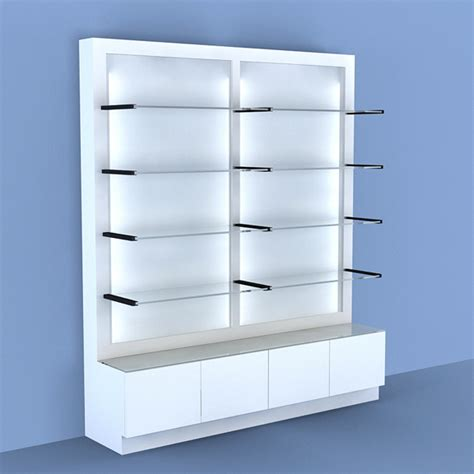 shelving unit salon furniture salon displays
