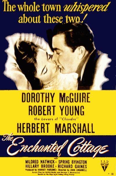 Su Milagro De Amor 1945 Filmaffinity The Enchanted Cottage Dvd
