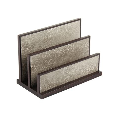 Smoke Rack by Buy Letter Rack Wenge And Smoke Shagreen